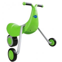Tryciflip ~ fun, simple design on this three wheeled kids contraption to run around on! From Imaginarium.