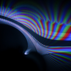 Carsten Nicolai's crt mgn Explores The Invisible Using TVs And Magnets.