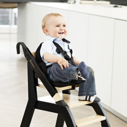 The Chair (bottom part) acts as a base for the minui HandySitt Portable Seat (top part). It doubles as an adult chair and sturdy stepstool. It's the only high chair with a portable seat.