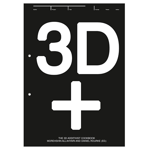 The 3D Additivist Cookbook is a compendium of strategies that aim to turn 3D printing into a tool for emancipation, activism and disruption. It brings together speculative texts, 3D models, prototypes, recipes and practical suggestions.