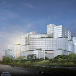 OMA reveals design for large-scale Residential Complex in  Singapore