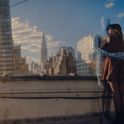 Lonely - Stunning music video for the Peach Kings using a single panoramic view of New York and invisible people.