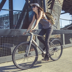 Solid 3D-Printed Titanium Bike by Industry and Ti Cycles.