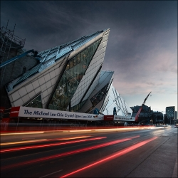 Daniel Libeskind in Toronto. The Royal Ontario Museum's Michael Lee-Chin Crystal addition.