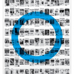 The Front Page Poster is a collection of the covers of all the major news papers from around the world chronicling Barack Obama's historic win.