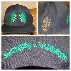 Teaser of the new hat collab by Fully Laced and Bigfoot launching at Dunkxchange sf