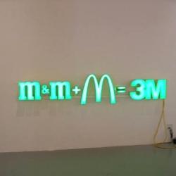 m&m + M = 3M