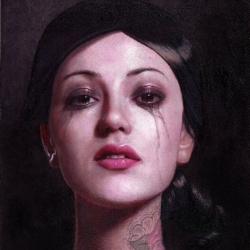 Amazing oil paintings from a NJ/LA based artist Kris Lewis.