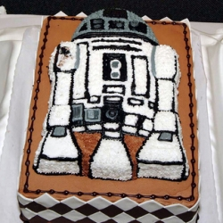 Trend: Geeky Wedding Cakes. Nintendo, Super Mario and Star Wars. YUMMO!