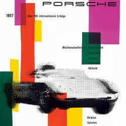 Beautiful vintage Porsche Racing posters from the late 50s/early 60s.