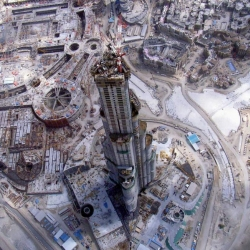 A View From The Top: Burj Dubai