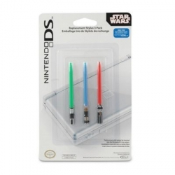 Official Lightsaber DS Styli ~ actual Star Wars and nintendo licensed products! $8 for 3!