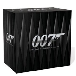 James Bond Ultimate Collector's Set ~ thats a lot of amusement and design inspiration in a box.
