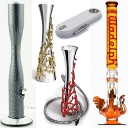 """Once again, in honor or 420, the newest designer and luxury hookahs, waterpipes and bongs on the market. Also, the true origin of the term """"420"""" and photos of where it began!"""