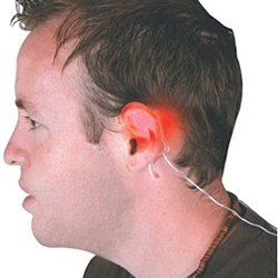 Put it behind the ears and activate it by a button attached to your belt. In this way everybody will know your intention to turn right or left.