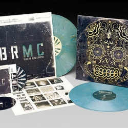 Check out the new Black Rebel Motorcycle Club album package from The Uprising Creative. Includes die cut vinyl cover and limited edition black CD. Sick!