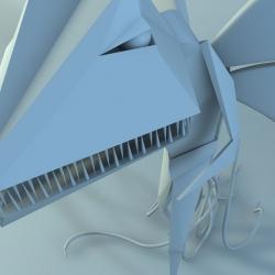 Interesting Renders for Camper shoes (Hybrid) By 3D artist Emilio Gomariz.
