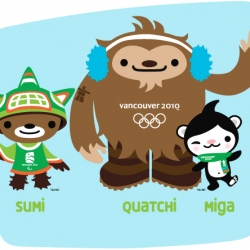 So cute! Vancouver's 2010 Olympic Mascots revealed. Created by Meomi Design.