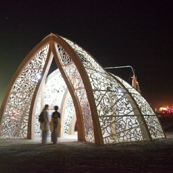 Amazing architecture installations from Burning Man 2010 - Metropolis: The Art of Cities.