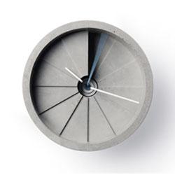 The 4th Dimension Concrete Clock from 22 Design Studio.