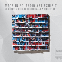 Made In Polaroid Art Exhibit. 50 of Polaroid's famous fans create 50 works of art with Polaroids.