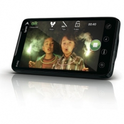 The Sprint HTC EVO 4G, the world's first 4G WiMax android mobile phone, also comes with a 1GHz Qualcomm Snapdragon processor, 8.0 megapixel auto-focus camera with HD-capable video camcorder.