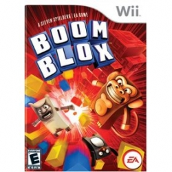 How i'm dealing with the TasteSpotting situation? A lot of Boom Blox right now ~ my new favorite game on the Wii ~ (second to rabbids!) ~ from EA and Stephen Spielberg... adorable creatures + blocks = puzzles!