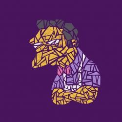 Moe(saic) - A Simpson's classic by David Schwen.
