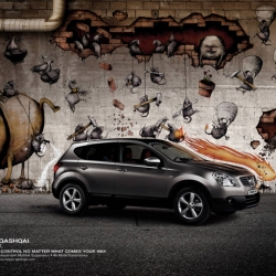 TBWA new nissan qashqai urbanproof  tv spots and print media are amazing check them out @ youtube ,also check http://www.tbwa.com/