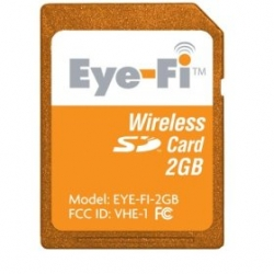 FINALLY! Eye-WiFi the wireless sd card is available! 2 gig for 99$