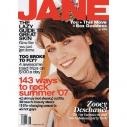 Ack! d*s notes that Jane magazine will be no more after August... although it has been a bit lacking lately, its still one of the more amusing girly mags
