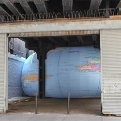 Weltschmerz in Chelsea: David Byrne on Squishing the Whole World Under the High Line.