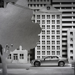 Paper City campaign by Pawel Nolbert & Lukasz Murgrabia for Chrysler.