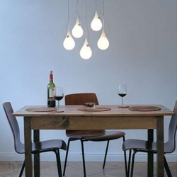 Feel More Human has 2 great collection's of lights.. they are so creative! Would make a great piece in any house!