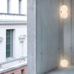 "Modular lighting so you can place these ""lightballs"" anywhere around your space. Ingenious."