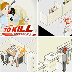 Tired of work? Hate your boss? Starting to forget what the sun looks like? A new game from adult swim will make it all go way. Play 5 Minutes to Kill Yourself
