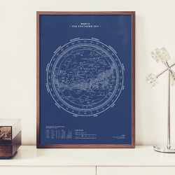 "Map No. II - The Southern Sky"" is the beautiful follow-up to the recently released Map I, by stellavie (Steffen Heidemann & Viktoria Klein). Southern Sky, Silkscreen printed, 50x70, limited to 500 pieces…"