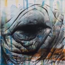 Illustrator Luke Hallam has captured amazing details in his Rhinoceros illustrations!