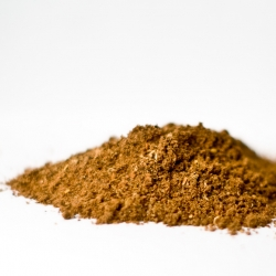 Pile of dirt? Nope, five spice powder. A balancing act to find the perfect harmony between the five elements: wood, fire, earth, metal, and water.
