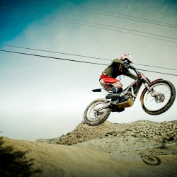 Video of . . . Trial Dirtbiking.  Shot in the desert of New Mexico 2010.