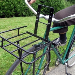 CETMAracks are an ideal alternative to the commonplace rear racks often found on bicycles.  With virtually indestructible  construction, a lower center of gravity, and the new option of removable fences, these racks are the answer to carrying cargo on your bicycle.