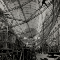Fascinated by the Graf Zeppelin. My favourite exhibition at the moment is People, Things, Human Works at the Berlinische Galerie,which presents some of the most iconic photos of Emil Otto Hoppé