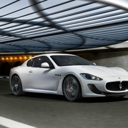 Latest release from Maserati, the GranTurismo MC Stradale is a more aggressive version of the Maserati GranTurismo model and features new increased aerodynamic down force to enable the car to accelerate faster and last longer on the road.