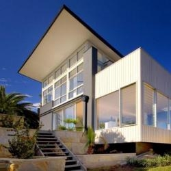 A new house in Sydney, Australia.  Designed by Crone Partners Studios.