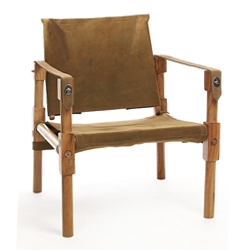 Love the history, function and more importantly the aesthetic of campaign furniture. Nice pieces made of kikar wood and buffalo leather. Classic.