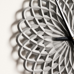 Concrete - Parametric Design - Craft - Geometric Beauty....Clocks that are about material, method, and infinite forms.