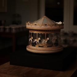 Wheel Of Life: A short film of a hand crafted paper Zoetrope coming to life from The Makerie Studio with Director André Gidoin.