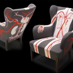 Fauteuil Tante Wera / AK-LH aka Aksel et Le Helloco / Limited editions signed and numbered 7.