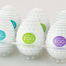 New Egg sextoys for men come from Japan. ~ the video and product is quite bizarre... the egg is a blobby egg with a hole you fill with lube...