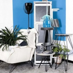 New Diesel home furniture collection presented in Milan design week.